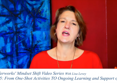 Mindset Shift 5 – From One-Shot Activities TO Ongoing Learning and Support of DEI