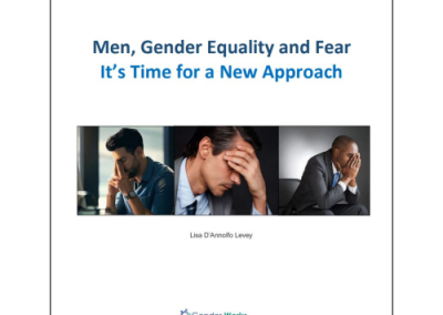 Men Gender Equality and Fear – A new Approach to Strengthening DEI